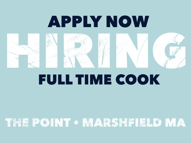 NOW HIRING THE POINT